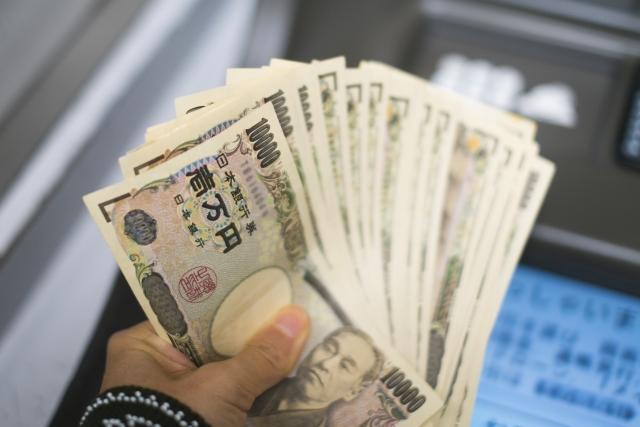ATMからの出金イメージ