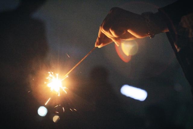 大和市内でも手持ち花火ができる公園がある
